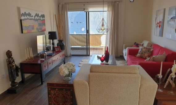 Apartment in Santiago del Teide,  Los Gigantes, 110 m2, fully furniture, terrace   | 4