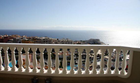 Квартира в Сантъяго-дель-Тейде,  Лос Хигантес, 110 м2, с мебелью, террасса, балкон, гараж   | 2