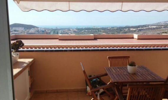 Квартира в Арона,  Лос-Кристианос, 66 м2, с мебелью, террасса, гараж   | 2