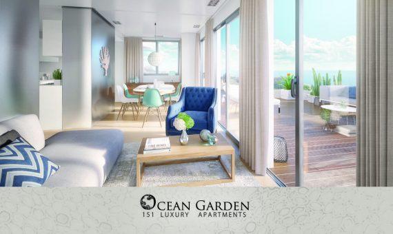 Apartment in Adeje,  Playa Paraiso, 91 m2, garden, terrace   | 3