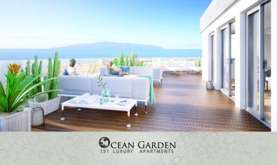 Apartment in Adeje,  Playa Paraiso, 91 m2, garden, terrace   | 2