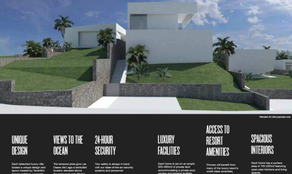 Villa in Guia de Isora, city Abama, 131 m2, garden, terrace, balcony, garage, parking   | 87860-570x340-jpg