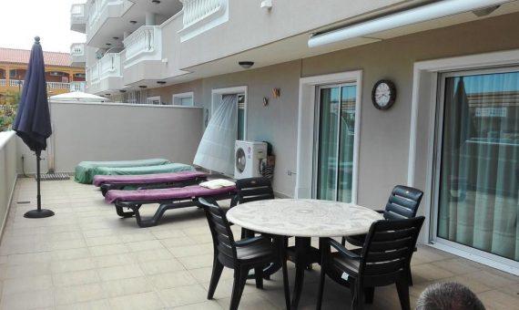 Квартира в Сантъяго-дель-Тейде,  Лос Хигантес, 126 м2, частично с мебелью, террасса, гараж   | 4