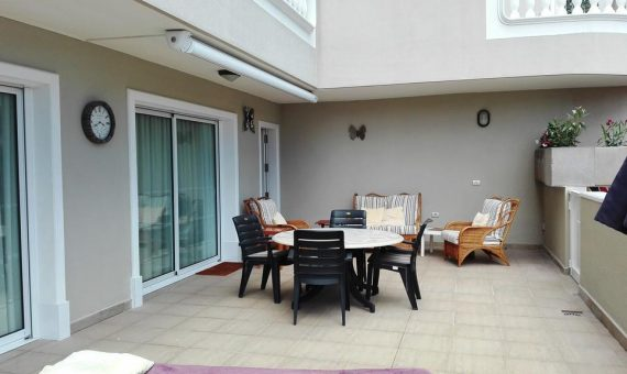 Apartment in Santiago del Teide,  Los Gigantes, 126 m2, partially furniture, terrace, garage, parking   | 4