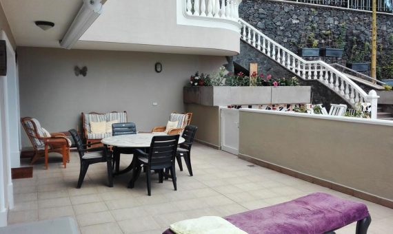 Apartment in Santiago del Teide,  Los Gigantes, 126 m2, partially furniture, terrace, garage, parking   | 2