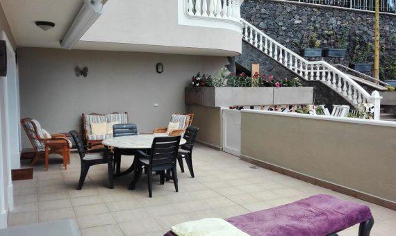 Квартира в Сантъяго-дель-Тейде,  Лос Хигантес, 126 м2, частично с мебелью, террасса, гараж   | 3