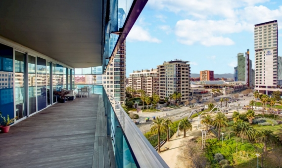 Apartment of 128 m2 with sea views on sale in Diagonal Mar in Barcelona | 4