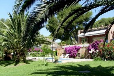 Дом с очаровательным садом в Плайя-де-Аро, Коста Брава - 1
