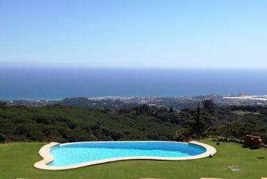 Вилла с панорамным видом на море в Сан-Андрес-де-Льеванерас
