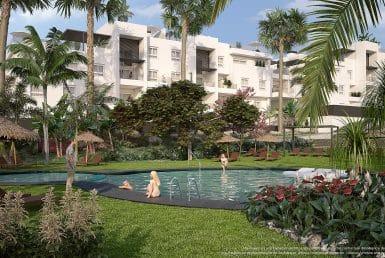 Apartment in Alicante, Punta Prima, 68 m2, pool