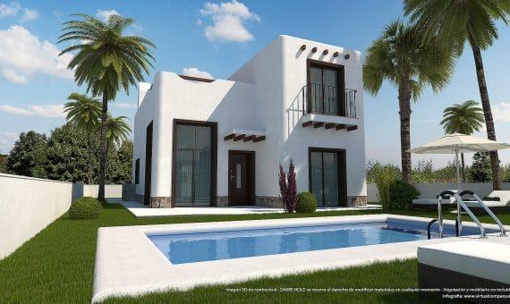 Villa in Alicante, Rojales, 128 m2, pool -