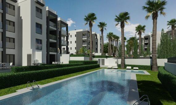 Apartment in Alicante, Orihuela Costa, 76 m2, pool -