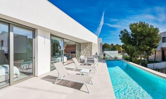 Villa in Alicante, Finestrat, 125 m2, pool -