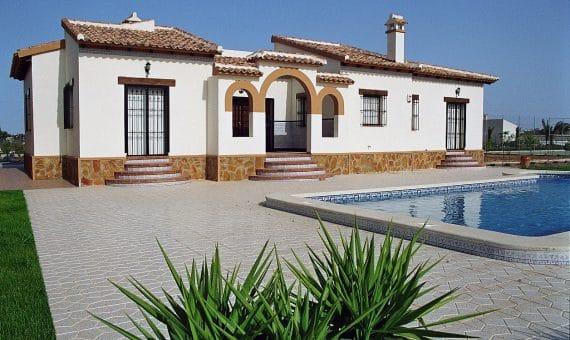 Villa in Alicante, Rojales, 110 m2, pool -