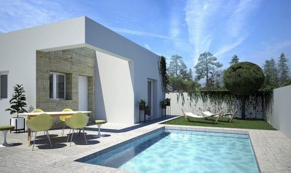 Villa in Alicante, Rojales, 78 m2, pool -