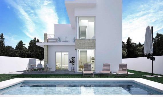 Villa in Alicante, Rojales, 121 m2, pool -