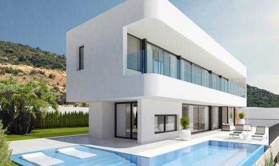 Villa en Alicante, Finestrat, 422 m2, piscina -