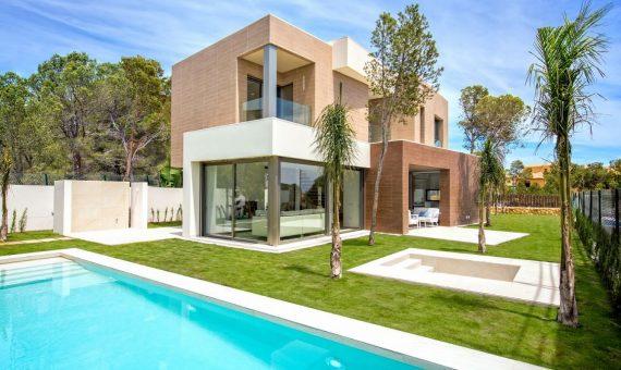 Villa in Alicante, Finestrat, 150 m2, pool -