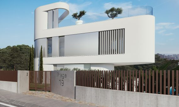 Villa in Alicante, Finestrat, 190 m2, pool -