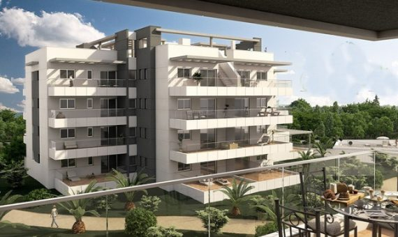 Apartment in Alicante, Orihuela Costa, 70 m2, pool -