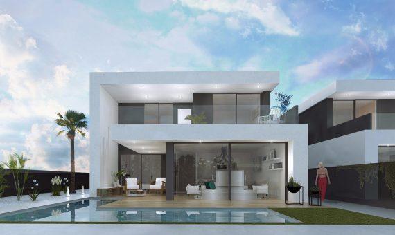 Villa in Alicante, Sucina, 138 m2, pool -