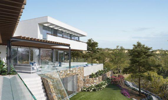 Villa in Alicante, San Miguel de Salinas, 570 m2, pool -