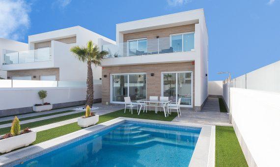 Villa in Murcia, Pilar de la Horadada, 114 m2, pool -