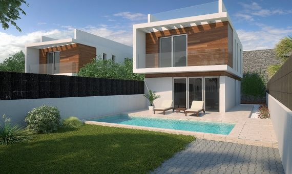 Villa in Alicante, Orihuela Costa, 158 m2, pool -