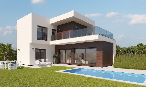 Villa in Alicante, Roda, 141 m2, pool -