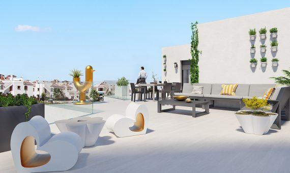 Apartment in Alicante, Orihuela Costa, 87 m2, pool -