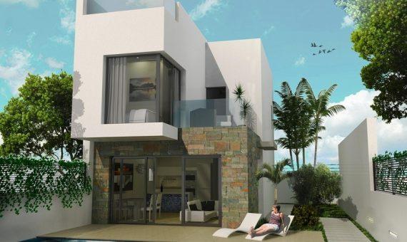 Villa in Murcia, San Juan de los Terreros, 117 m2, pool -