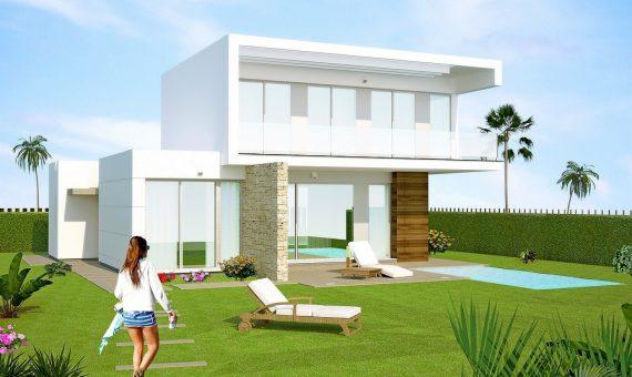 Villa in Alicante, San Miguel de Salinas, 206 m2, pool -