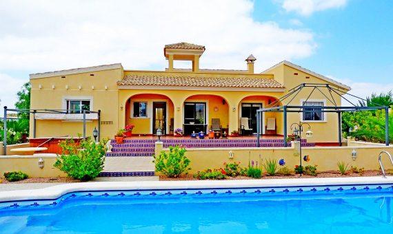 Townhouse in Alicante, Abanilla, 120 m2, pool -