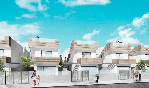 Villa in Murcia, Torre de la Horadada, 105 m2, pool -