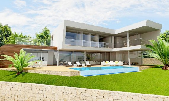 Villa in Alicante, Benissa, 465 m2, pool -