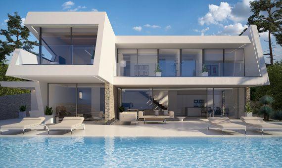 Villa in Alicante, Teulada, 426 m2, pool -