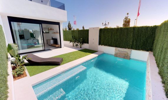 Semi-detached house in Murcia, Los Alcazares  Mar Menor, 98 m2, pool   | g_ole_7ad5985b-c633-0f40-9f84-d88e84fe56cc-570x340-jpg