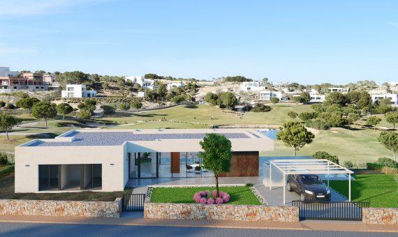 Villa in Alicante, San Miguel de Salinas, 150 m2, pool -