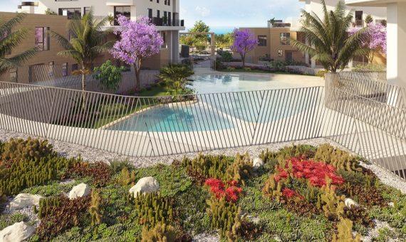 Apartment in Alicante, Villajoyosa, 165 m2, pool -