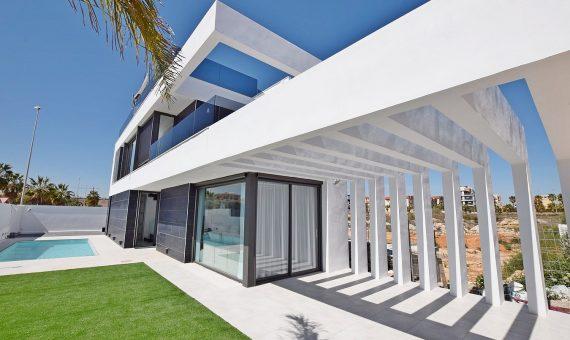Villa in Alicante, Orihuela Costa, 117 m2, pool -