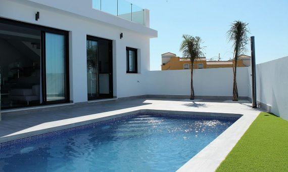 Villa in Alicante, Montesinos, 134 m2, pool -