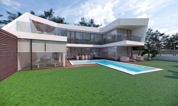 Villa in Alicante, Altea, 298 m2, pool -