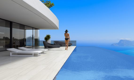 Villa en Alicante, Altea, 496 m2, piscina -