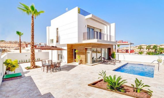 Villa in Alicante, Orihuela Costa, 195 m2, pool -