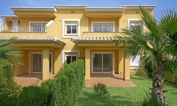 Apartment in Alicante, Moraira, 92 m2, pool -