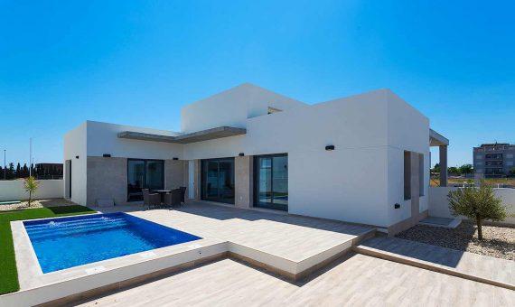 Villa in Alicante, Daya Nueva, 118 m2, pool -