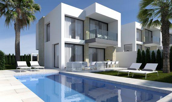 Semi-Detached Villa in Alicante, Finestrat, 131 m2, pool -