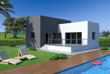 Villa en Alicante, Rojales, 73 m2, piscina