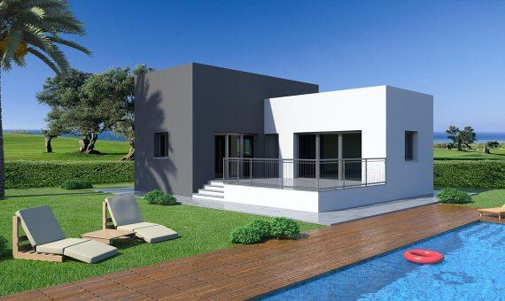 Villa in Alicante, Rojales, 73 m2, pool -