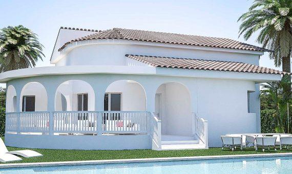 Villa en Alicante, Rojales, 118 m2, piscina -